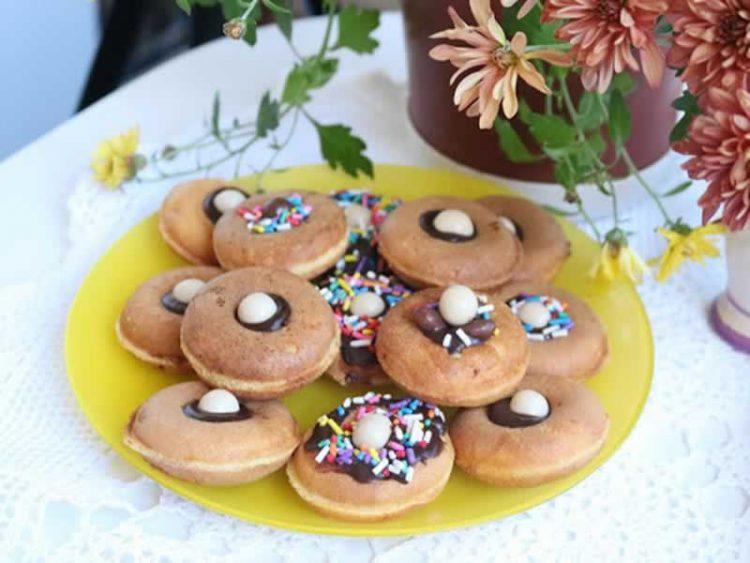 Мини крофни – Цело семејство ќе ги сака