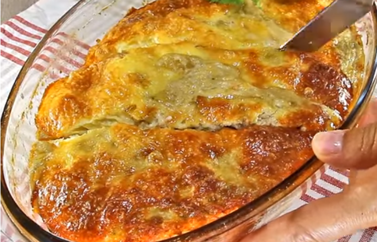 Специјалитет со мелено месо од рерна