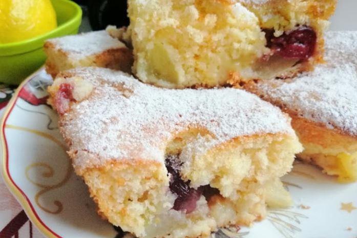 Колач со диња и вишни: Подобар од било која овошна торта