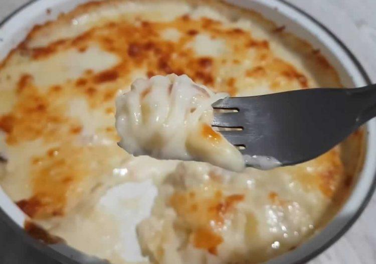 Деликатес со компир и пармезан