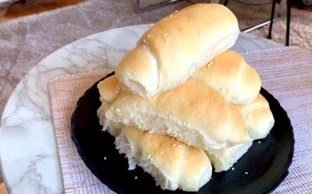 Пекарски кифли без јајца, маргарин и млеко (Видео)
