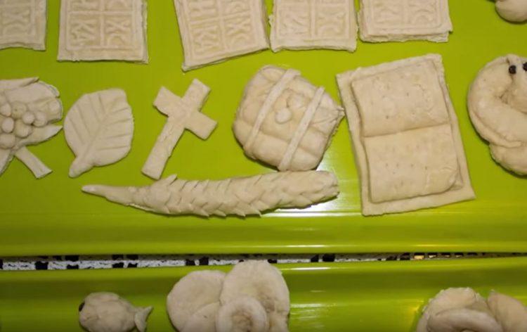 Идеи за украси од тесто за славски колач (Видео)