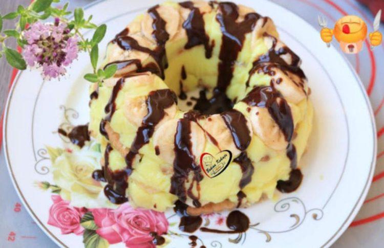 Непечен кремаст куглоф од банани: Сочен брз колач