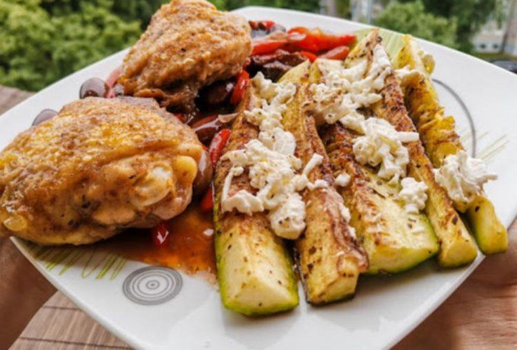Шпанско пилешко и грчки тиквици: Јадење кое ќе ве освои
