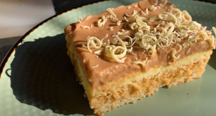 Торта без јајца која не се пече: Кремисимо