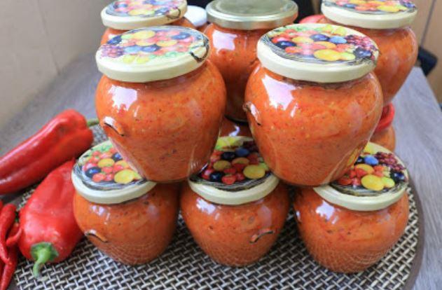 Балкански специјалитети: Ајвар од варени пиперки