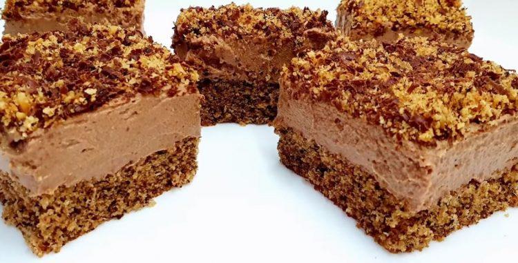 Титов колач – со ореви и чоколадо