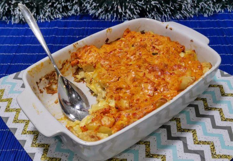 Запечено пилешко со ајвар: Брз и едноставен ручек