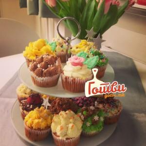 Cupcakes Капкејк мафини