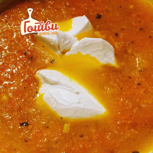 Крем супа од моркови