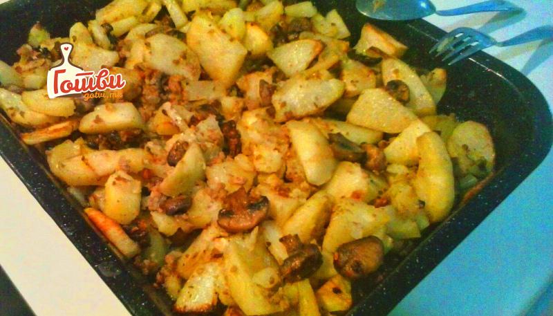 Посно јадење: Вкусна и здрава комбинација од буковка и компир