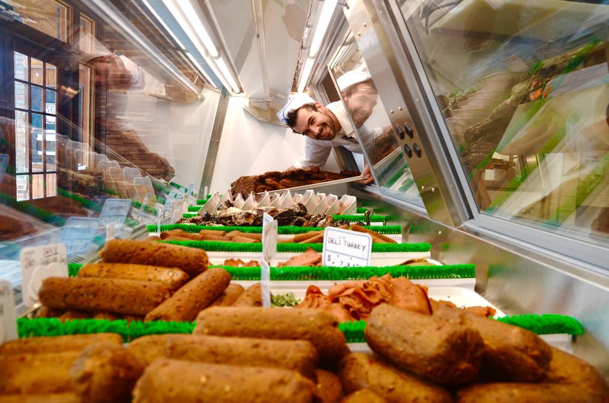 Отворена првата вегетаријанска месарница