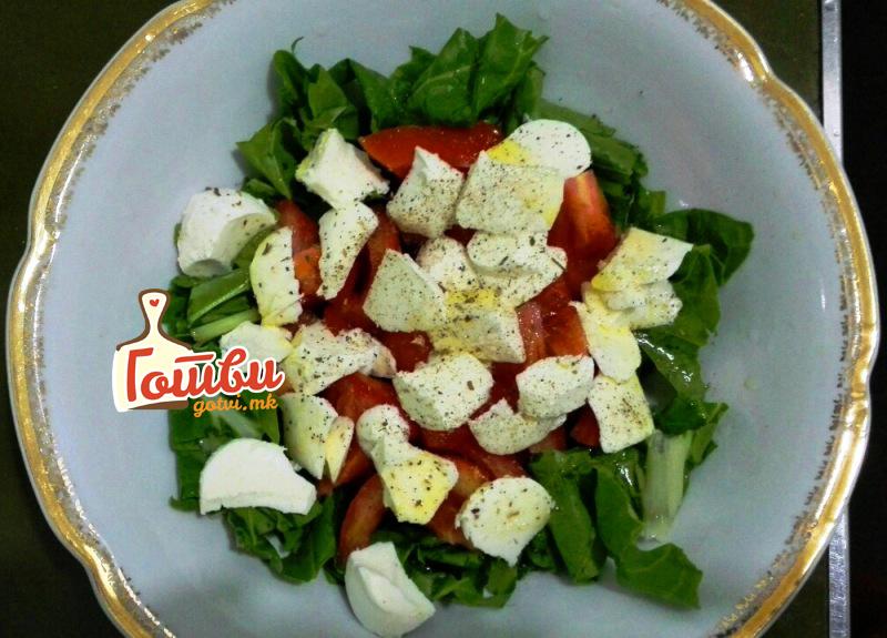 Вкусна зеленчукова ужинка