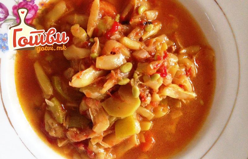 Боранија со тиквичка – посен и многу вкусен ручек