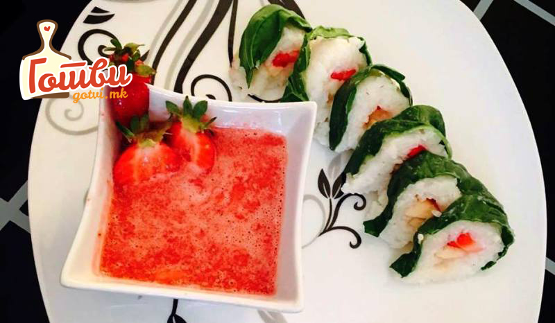 Овошно суши