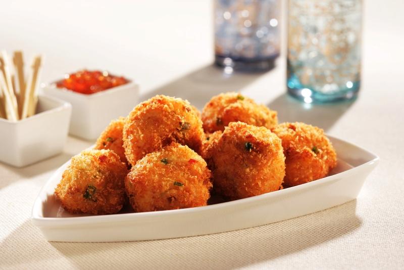 Егзотични топчиња од компири