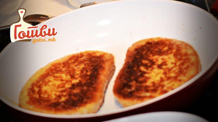 Рецепт за запечен похован леб