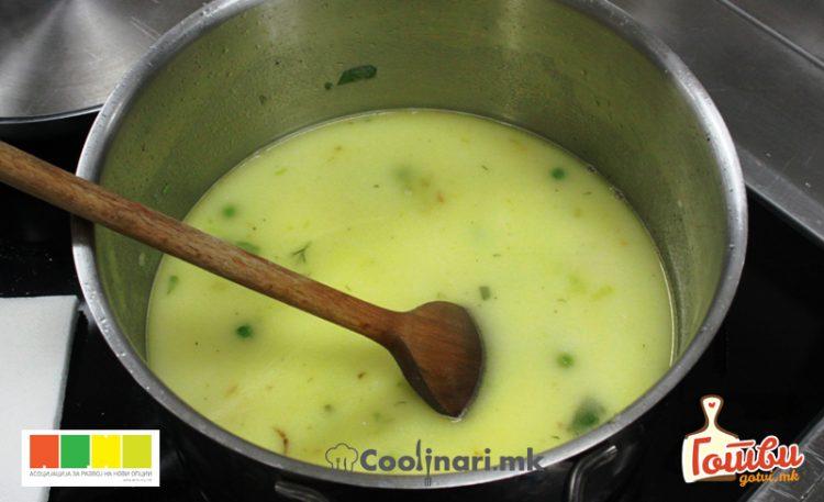 Крем супа од зеленчук
