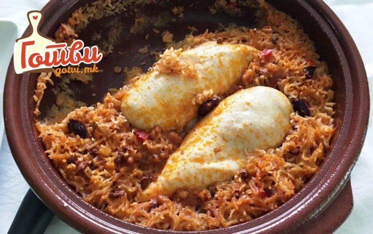 Ориз chili con karne