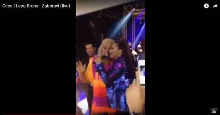 ВИДЕО: Цеца и Лепа Брена пеат во дует – обожавателите воодушевени