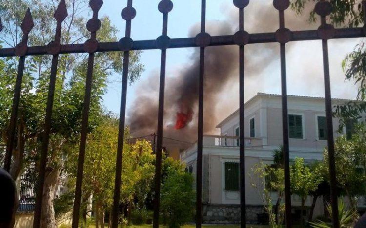 ВИДЕО: На Тасос втор ден беснеат пожари