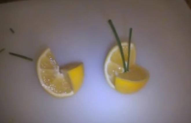 ВИДЕО: Декорација од лимон – овошјето како уметност