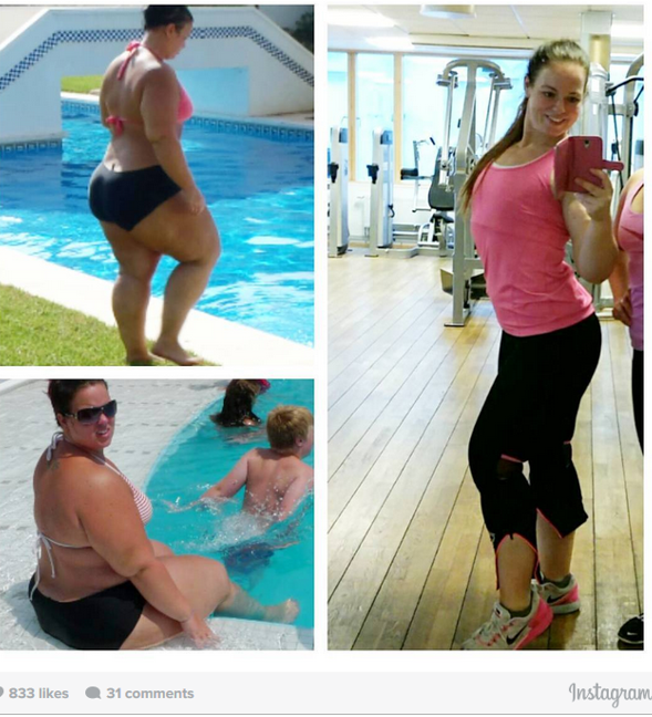 ФОТО: Имала 146 килограми – сега е фитнес модел