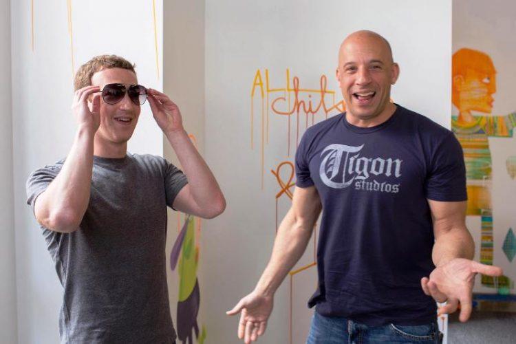 ФОТО: Вин Дизел собори рекорд на Facebook – Марк му честиташе