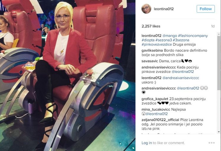 """ФОТО: Леонтина ослабена и со променет имиџ во новата сезона на """"Пинк ѕвездички"""""""