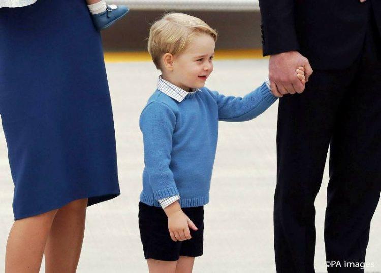 ФОТО Галерија: Малиот принц Џорџ кралски пречекан во Канада