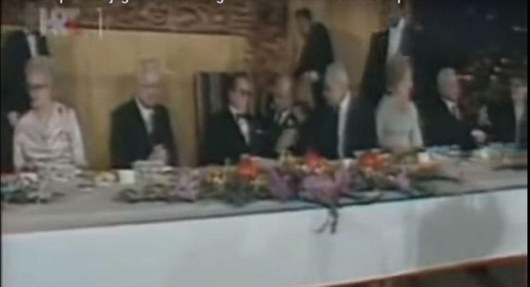 ВИДЕО: Како изгледала последната свечена вечера на Јосип Броз Тито