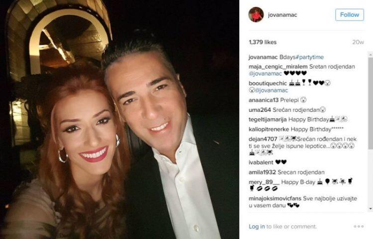 ФОТО: Жељко Јоксимовиќ и неговата сопруга Јована на романтична вечера