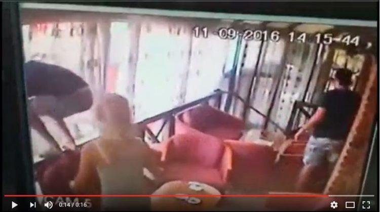 ВИДЕО: Пиеја кафе и здрма земјотресот во Скопје…