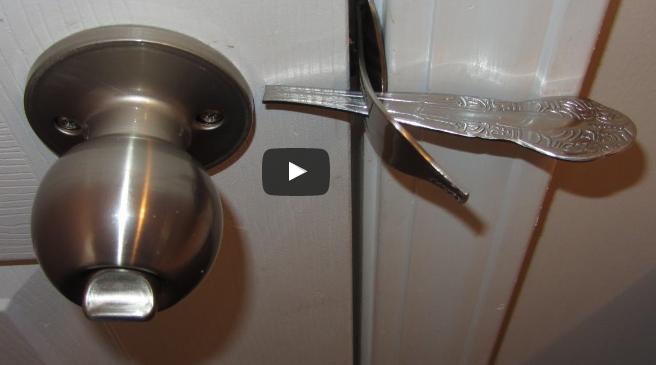ВИДЕО: За безбеден дом – со една вилушка спасете се од крадци