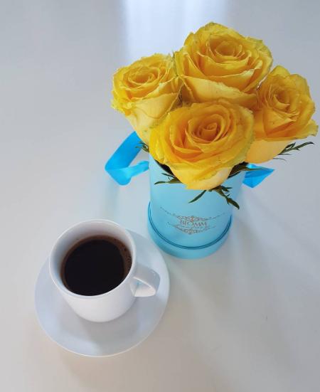 ФОТО: Вака Сека го пие првото утринско кафе