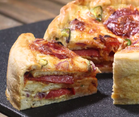 ВИДЕО: Торта од пица – деликатес на годината