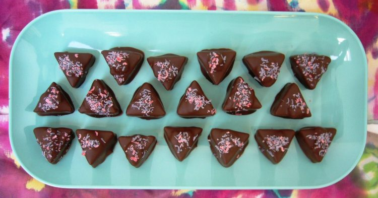 Чоко триаголници – ќе побарате репете