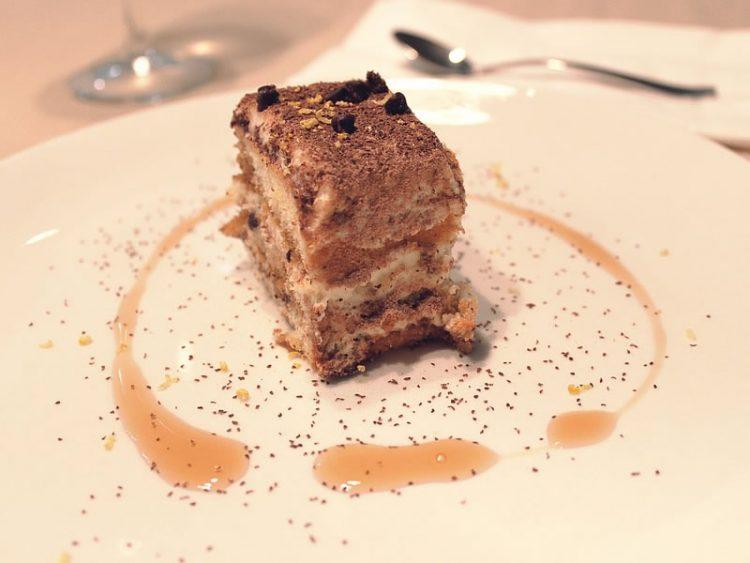 Кекс торта со кафе
