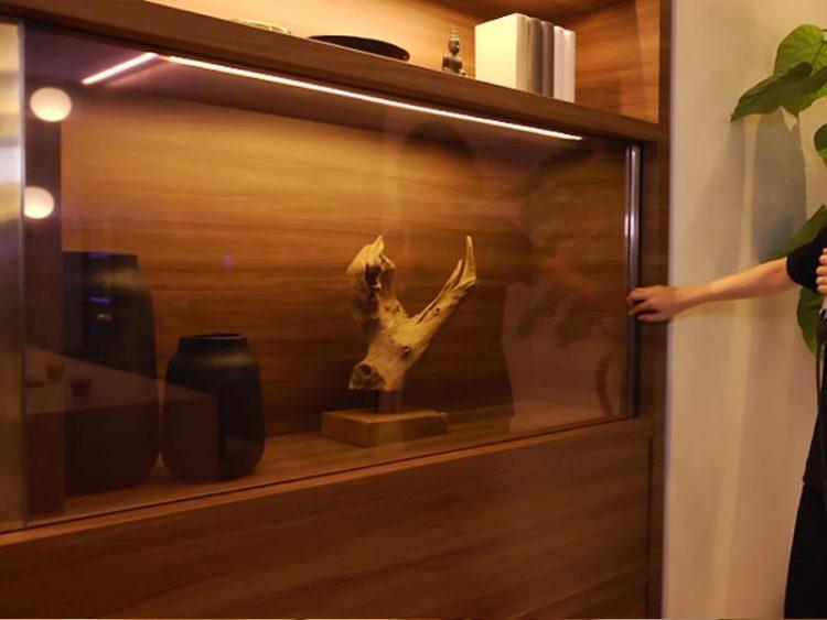 Изгледа како обична витрина, но погледнете во што се претвора кога ќе го допре стаклото! Ова ќе го посакате во својот дом!