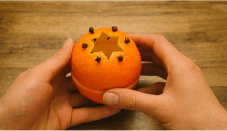 ЕВТИНО А НЕВЕРОЈАТНО: Новогодишна декорација од неколку портокали