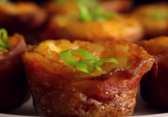 ВИЕО РЕЦЕПТ: Јајца и сланина, нема подобар рецепт за мафини