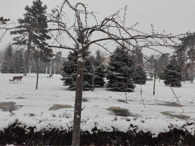 Македонија во жолта фаза – рекордно ниски температури