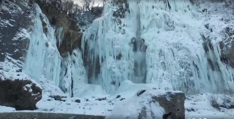ВИДЕО: Замрзнаа и Плитвичките езера во Хрватска