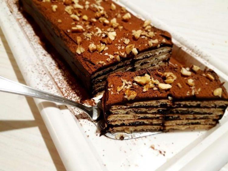 Ресана ролат – Вкусен десерт без печење, лесно и брзо за подготовка