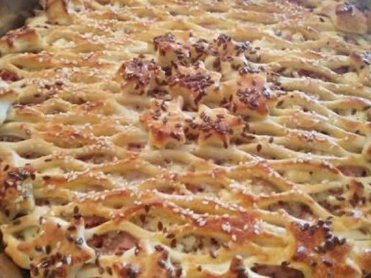 БРЗО, ЛЕСНО, ВКУСНО: Мрежеста пица (ВИДЕО)