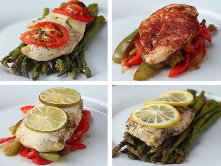 БРЗО И ЛЕСНО: Пилешко на 4 начини (ВИДЕО)