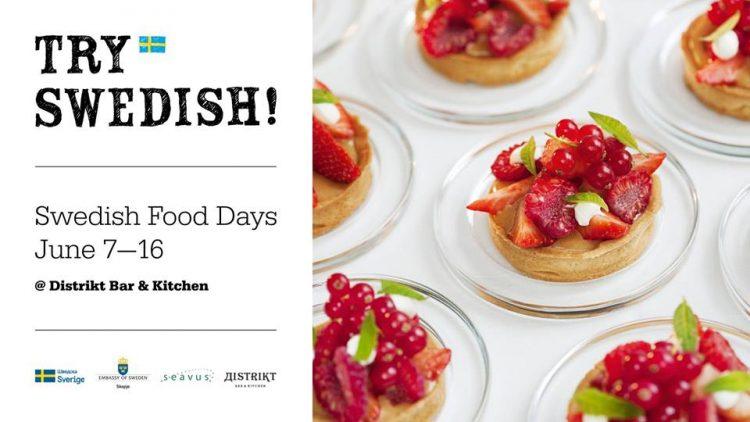 Try Swedish! Денови на шведска храна во Скопје од 7 до 16 јуни