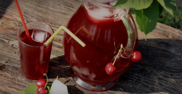 Витамини еден тон, мириса на лето: Направете сок од вишни