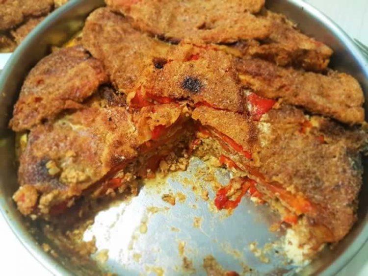 Солена торта од пиперки