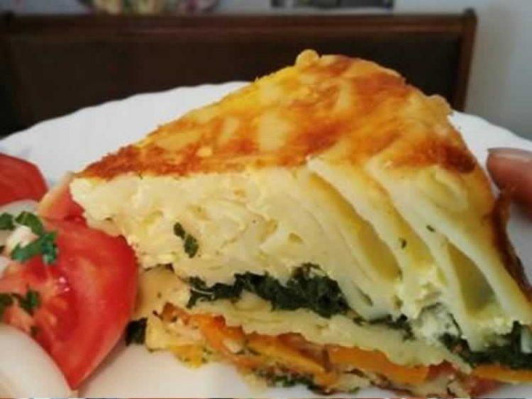 Неодолива, вкусна и брза солена торта од макарони (ВИДЕО РЕЦЕПТ)